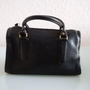 Coach Vintage Speedy Satchel Black Leather Bag